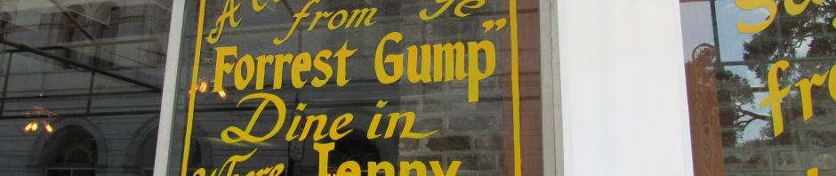Forrest Gump Scene location