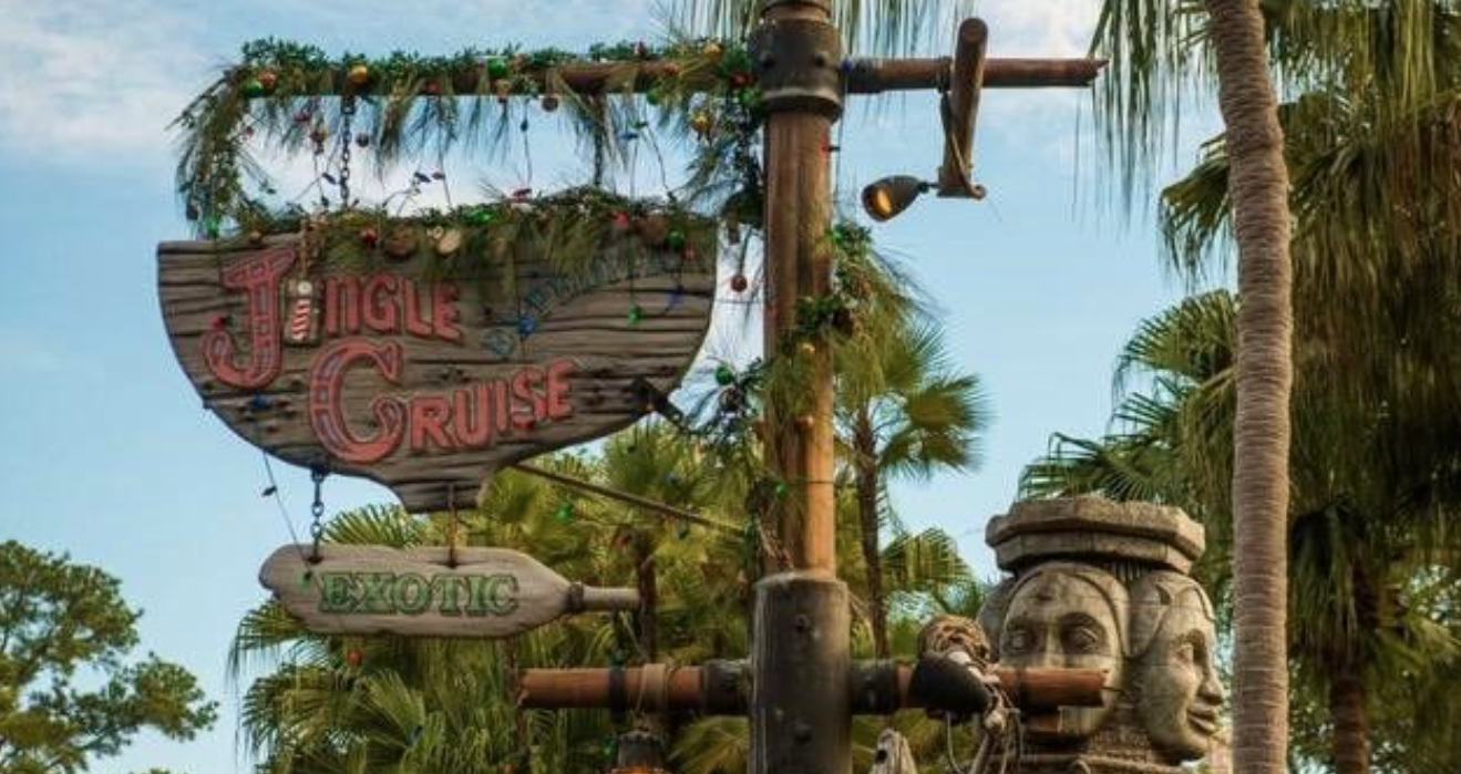 "2019 ""Jingle"" Cruise Launches at Disney World's Magic Kingdom —"
