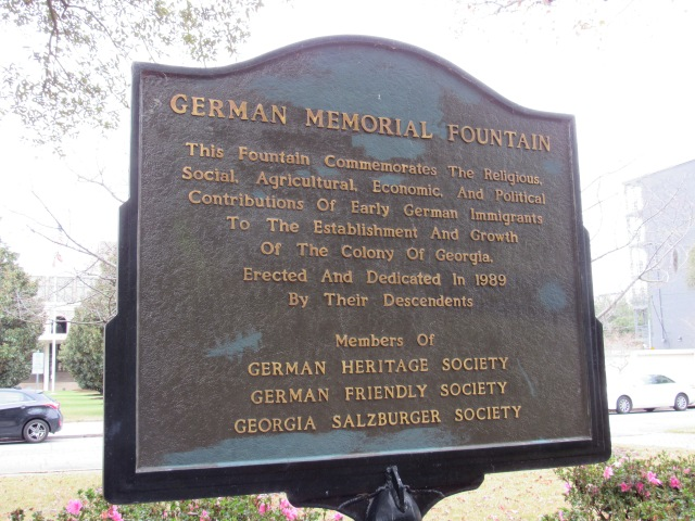 Commemorative marker