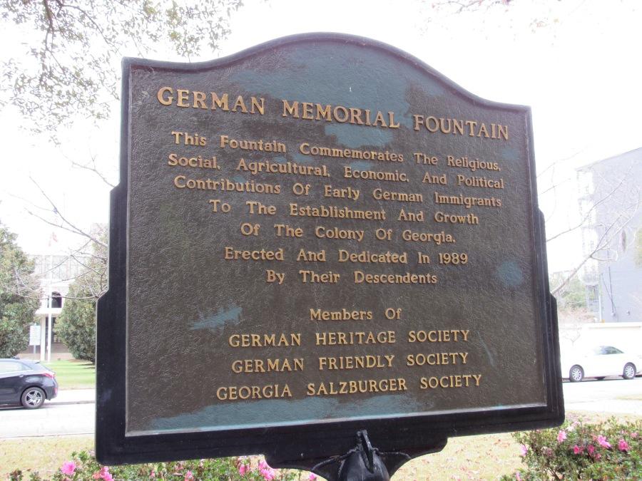Commemorative marker