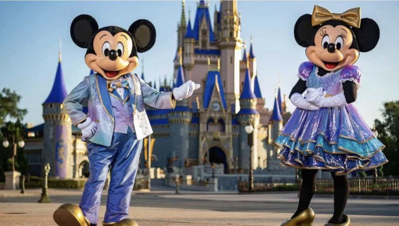 New Costumes for Mickey and Minnie for Disney World's 50th Anniversary Celebration! — Our Magical Disney Moments