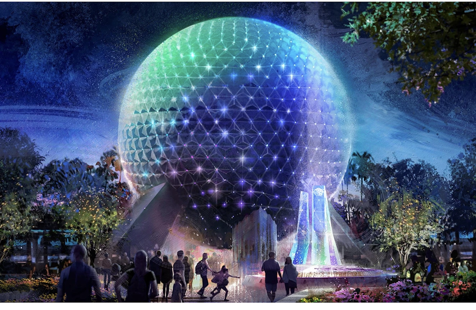 'Beacons of Light' Installed on Spaceship Earth —